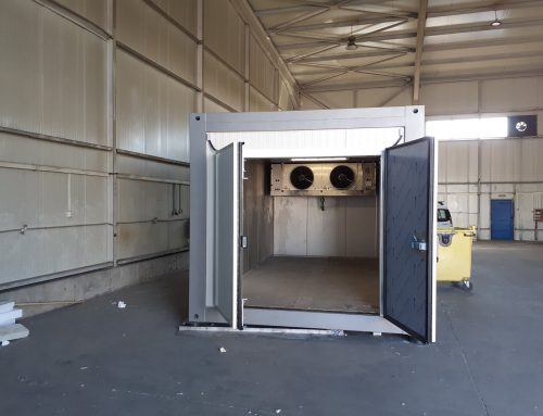 "Хладилни инсталации към хладилни контейнери за ""Топ Хаус"" ООД"